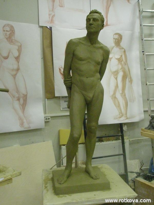 Обнаженная модель мужчины фото 587-43